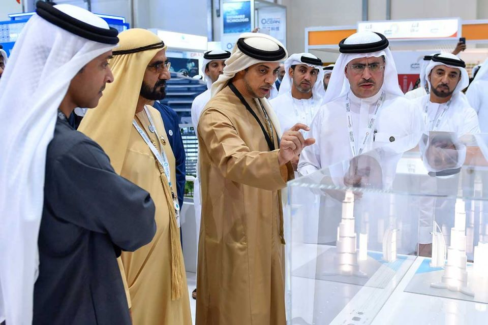In pictures: Ruler of Dubai visits ADSW 2018