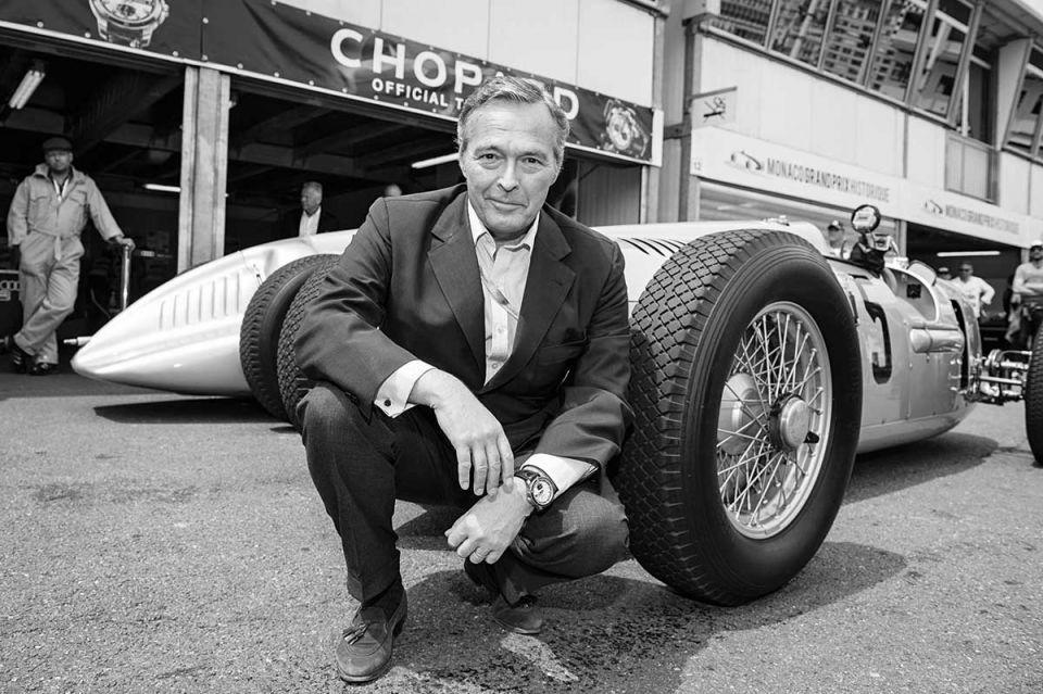 Why a watchmaker organising classic car rallies in Dubai