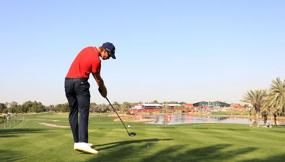 In pictures: Action from day three at Abu Dhabi HSBC Golf Championship