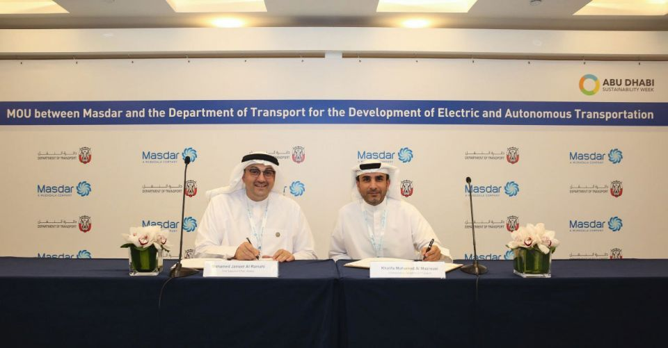 Abu Dhabi pushes forward with electric and autonomous vehicles