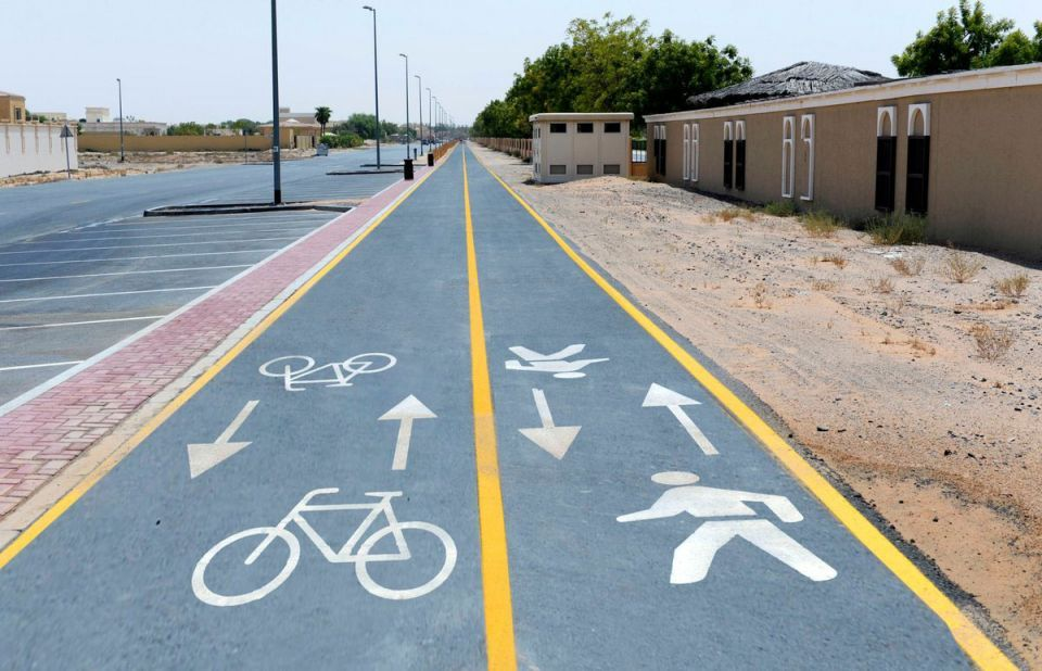 Dubai says to expand cycle lanes to 850km by 2030