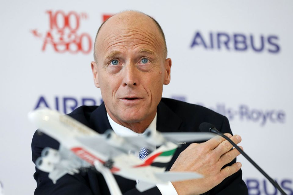 Airbus to get '10 years of visibility' from Emirates deal: CEO