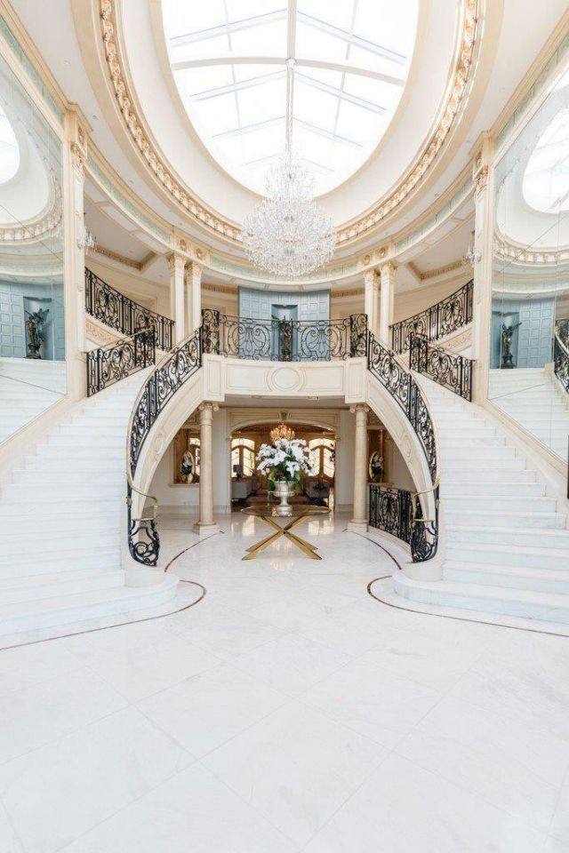 In pictures: Inside the $80m French Chateau for sale in Beverly Hills