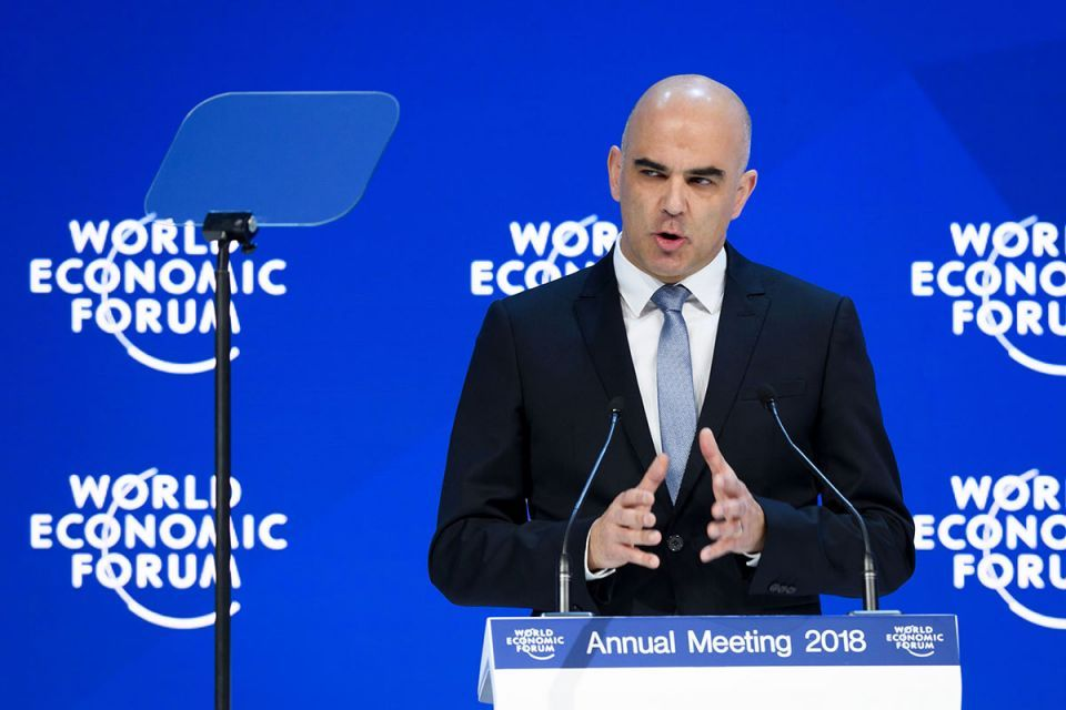 In pictures: 2018 edition of the World Economic Forum (WEF) annual meeting in Davos