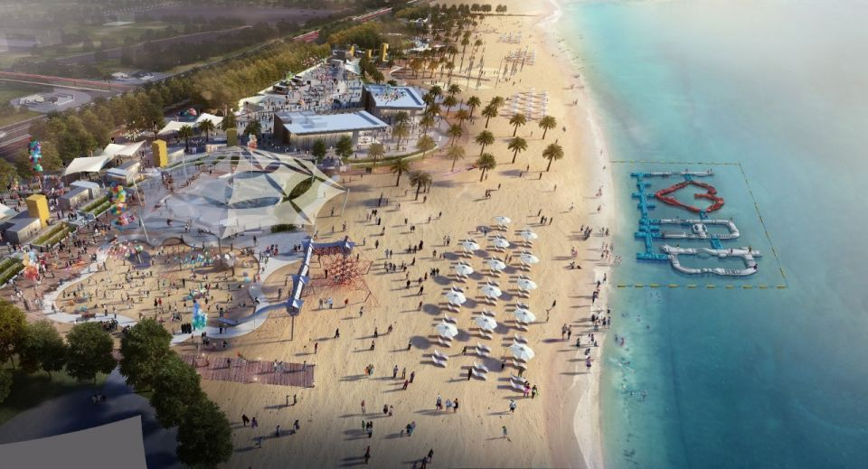 New Abu Dhabi beachfront project set to open by end-March
