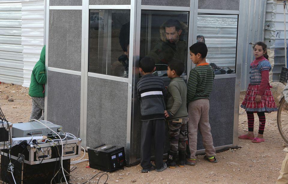 In pictures: Angelina Jolie visits Zaatari Syrian refugee camp in Jordan
