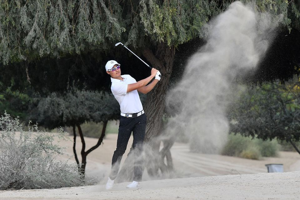 In pictures: China's Li Haotong lifts Dubai title