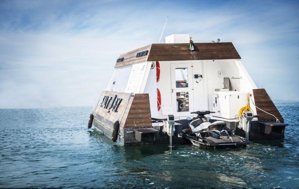 Dubai launches world's first floating drive-thru
