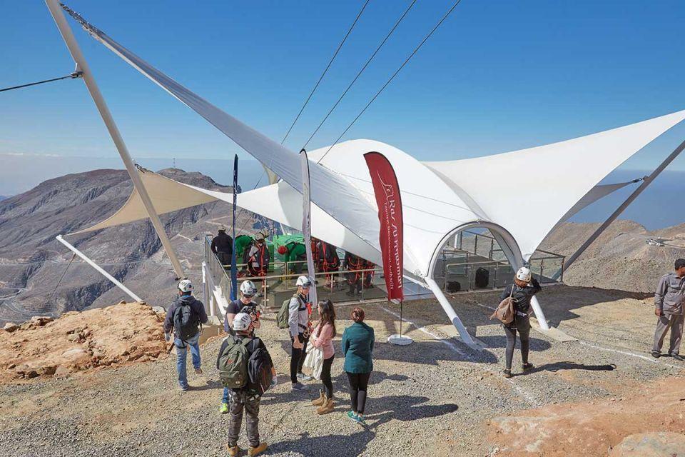 In pictures: Ras Al Khaimah opens world's longest zip line