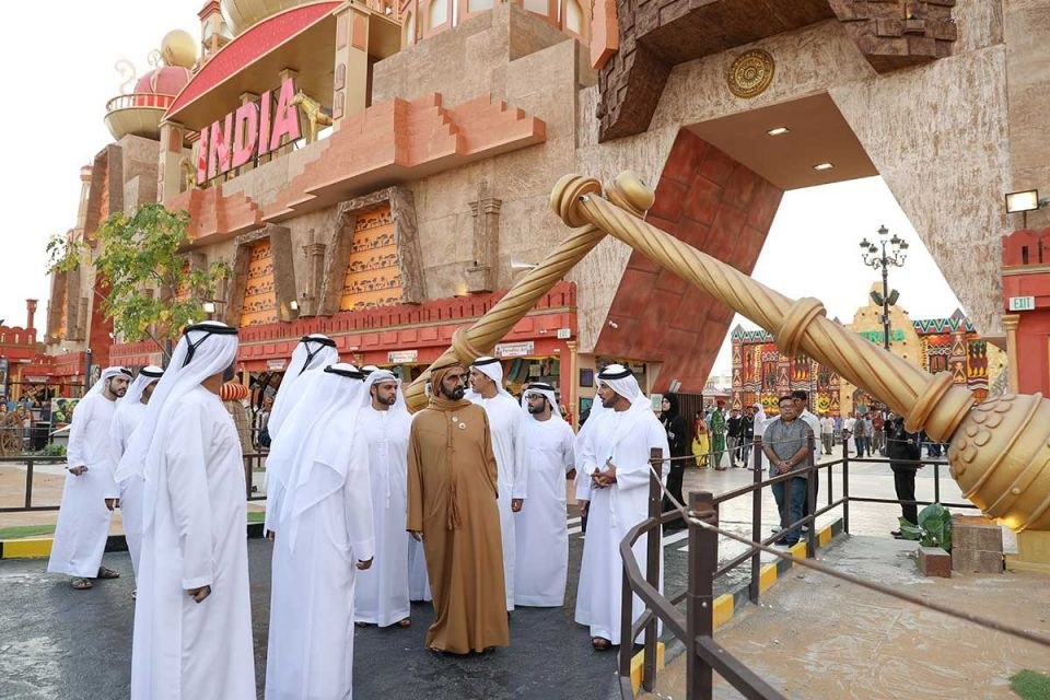 In pictures: Dubai Ruler tours Global Village