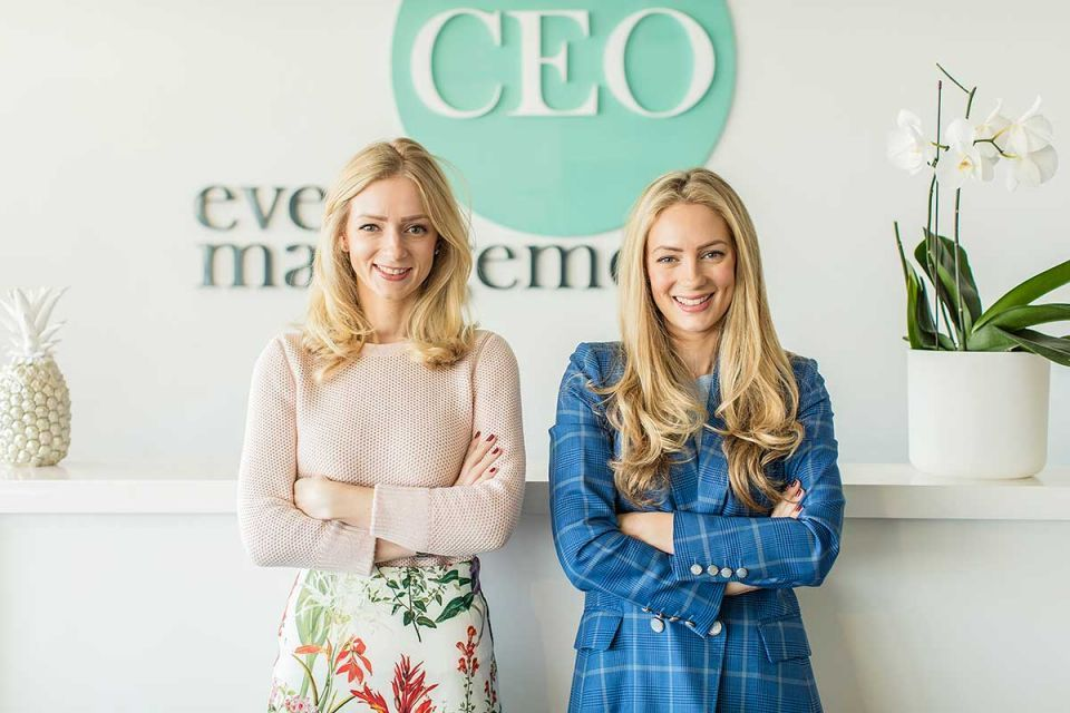 Six questions with Charlotte and Lucy Oliver, the wonder women behind CEO Event Management