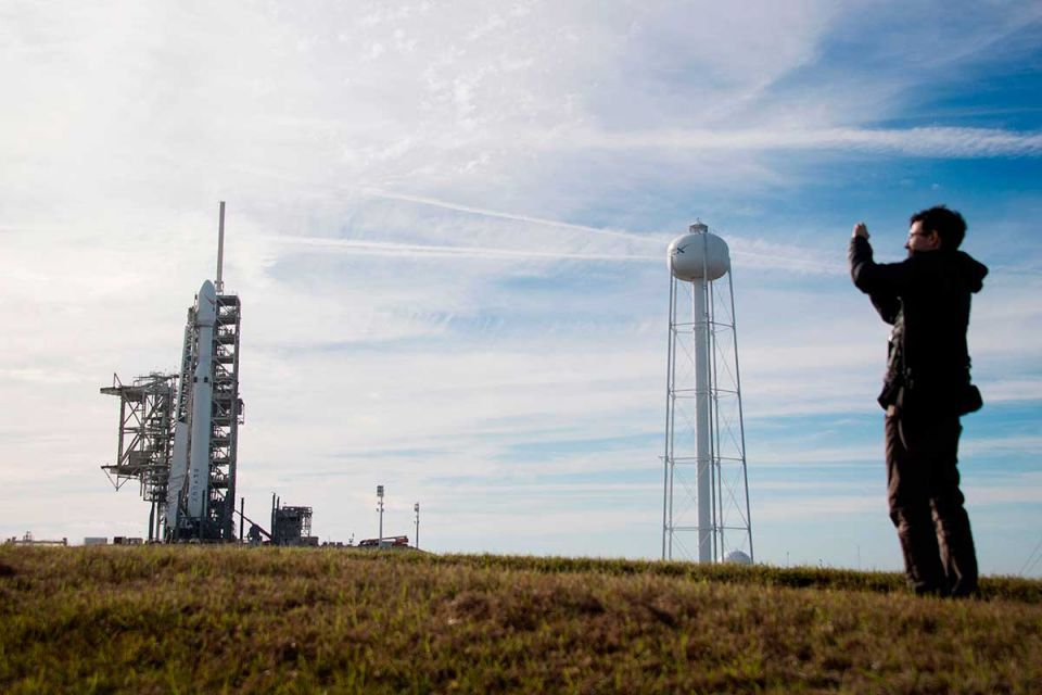 In pictures: The world's most powerful rocket, SpaceX launches Falcon Heavy