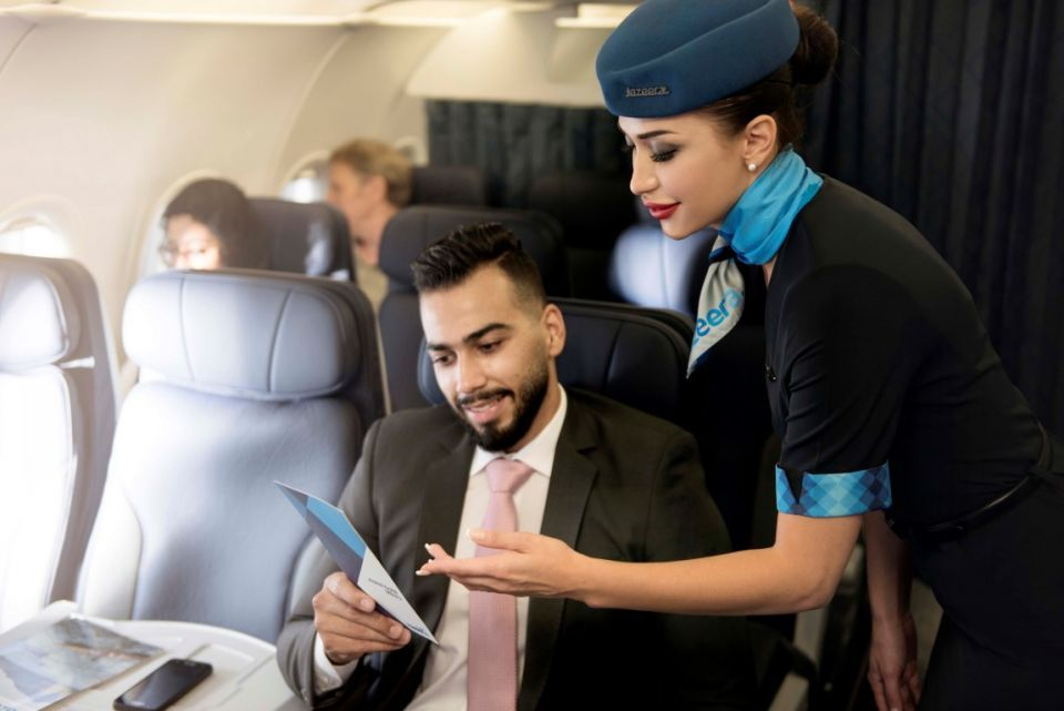 Kuwait's Jazeera Airways launches discount on Business Class seats