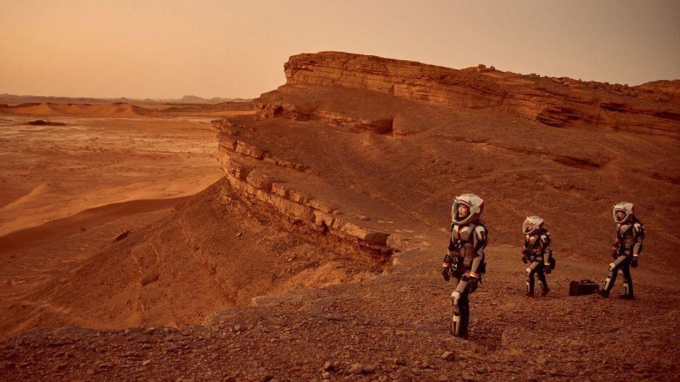 Would-be space travellers train for Mars in Oman desert