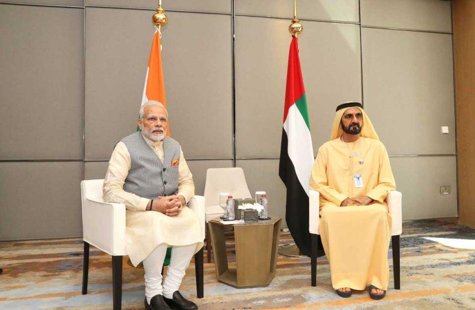 Sheikh Mohammed, Narendra Modi discuss UAE-India relations