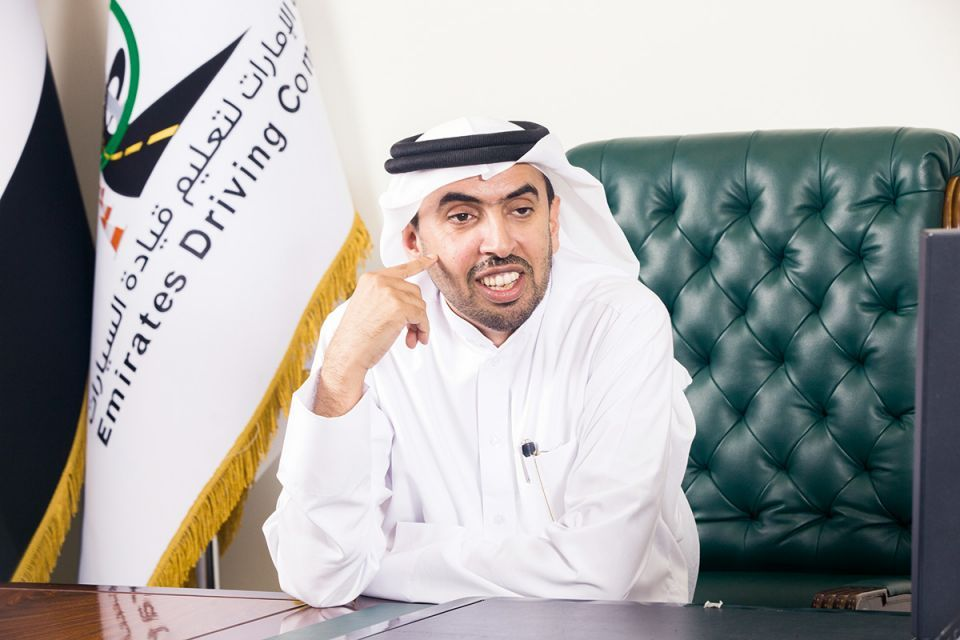 Emirates Driving Company's CEO is on the move