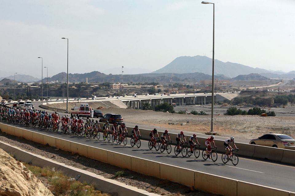 In pictures: Tour of Oman stage one kicked off in Muscat