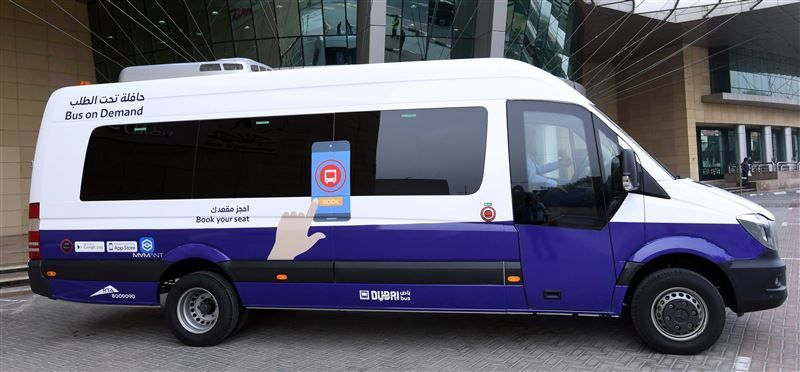 Free trial run for Dubai RTA's new 'bus on demand' service
