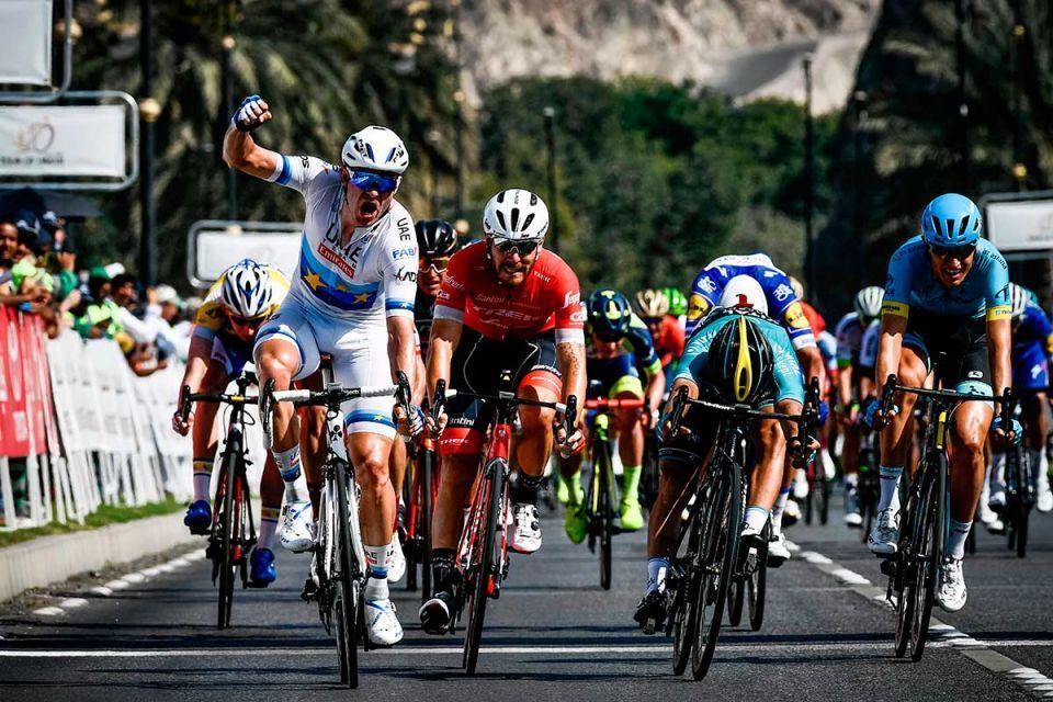In pictures: Norwegian rider Alexander Kristoff of UAE Team Emirates wins final stage