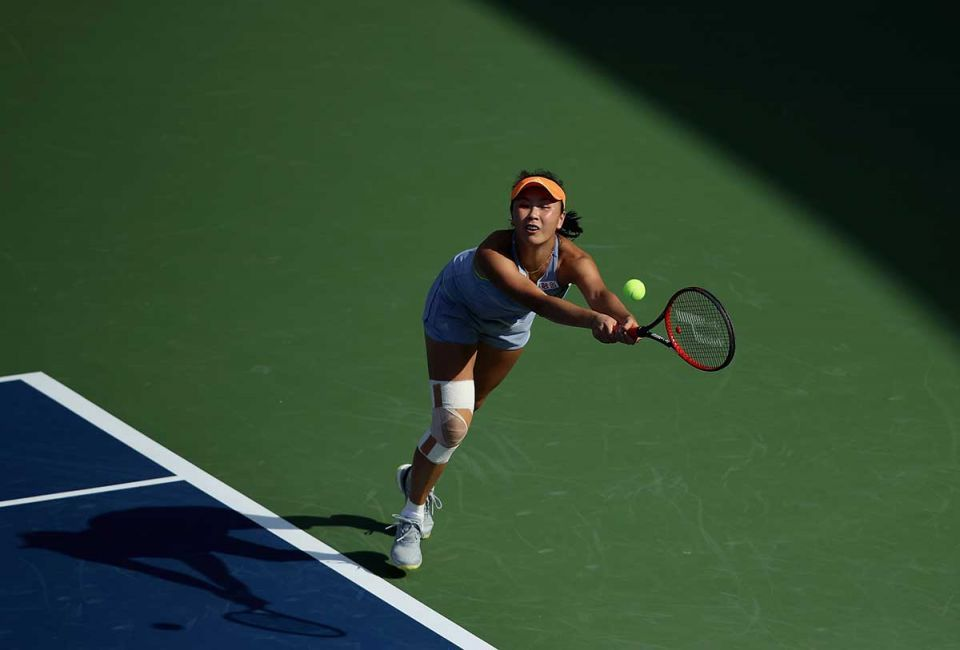 In pictures: Opening day of WTA women's Dubai Duty Free Tennis Championships