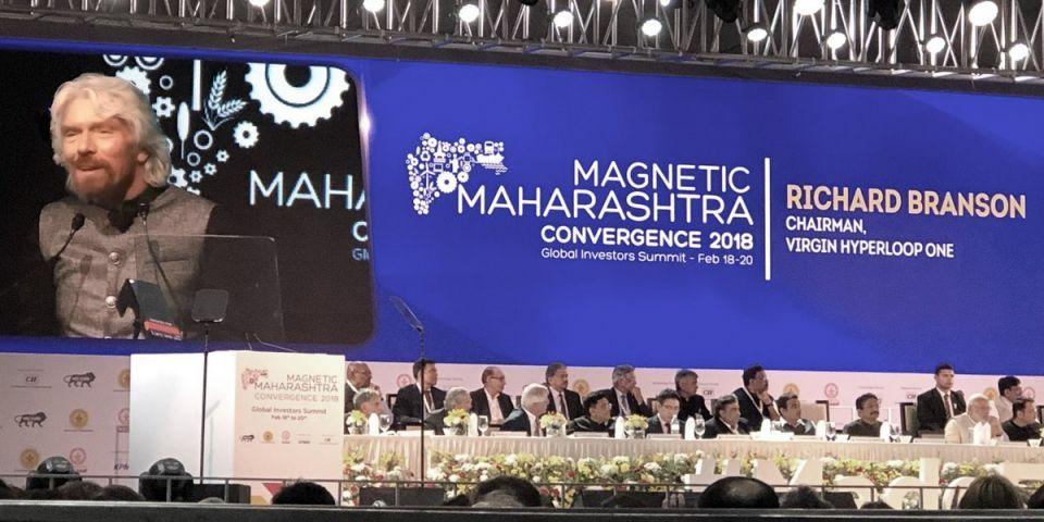 Billionaire Richard Branson unveils Hyperloop plans for India