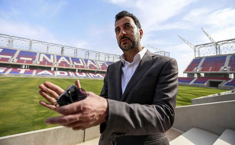 Iraq urges FIFA to lift ban on hosting internationals