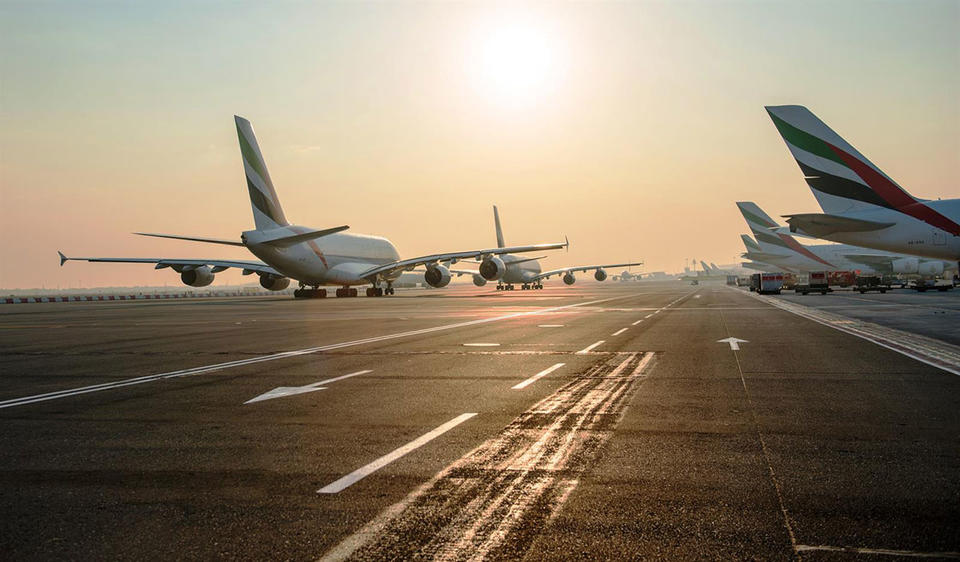 DXB passenger traffic sees small drop in January