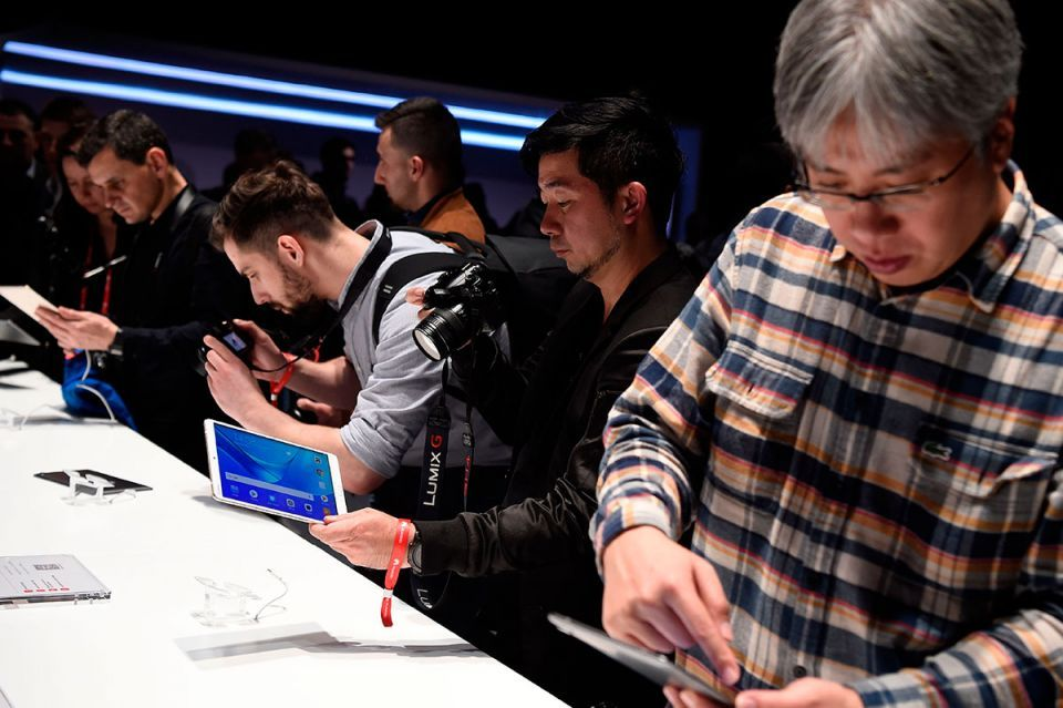 In pictures: 2018 edition of the GSMA's Mobile World Congress begins