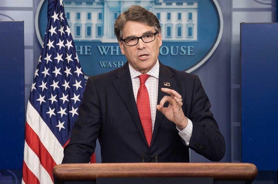 US energy chief planning nuclear talks with Saudis