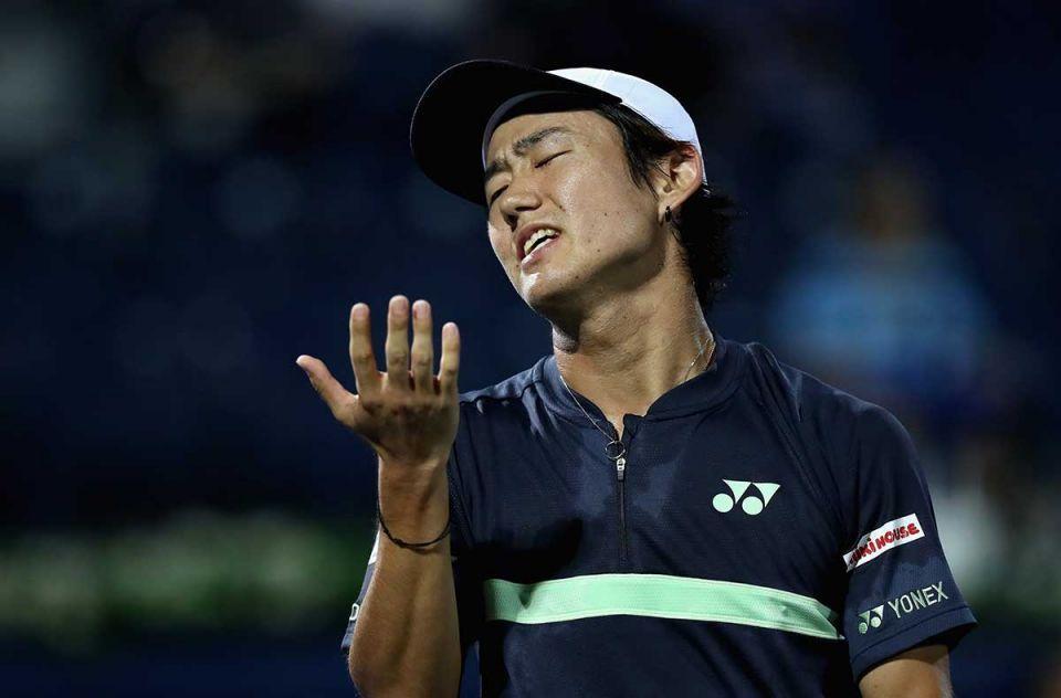 Nishioka beaten by Paire in Dubai as he steps up injury comeback