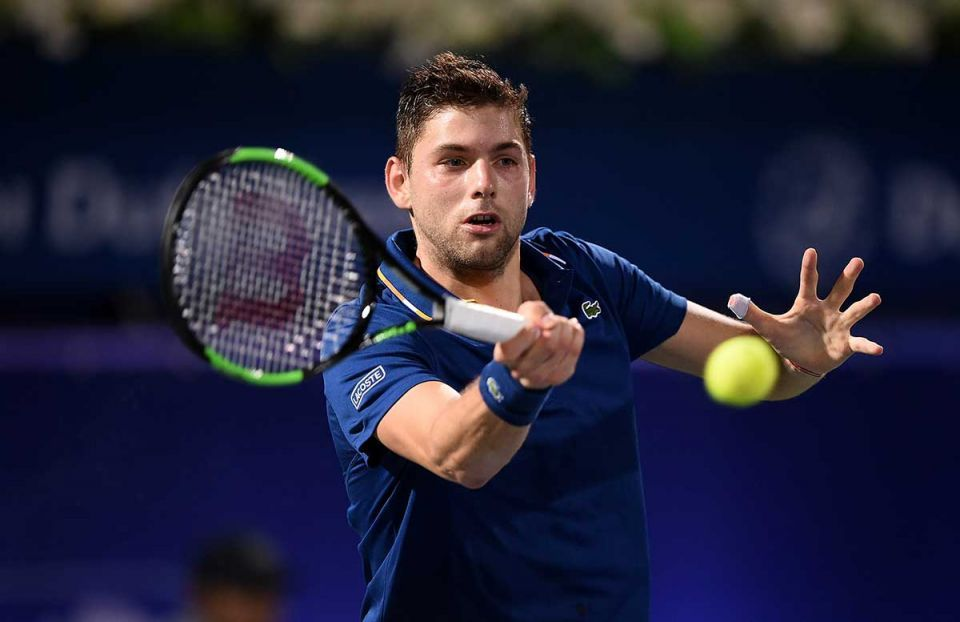 In pictures: Second round of the ATP Dubai Duty Free Tennis Championships