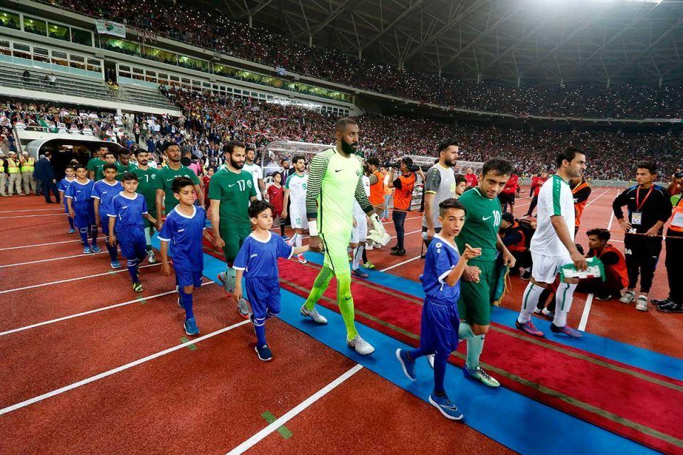 Saudi Arabia offers to fund new Iraq football stadium