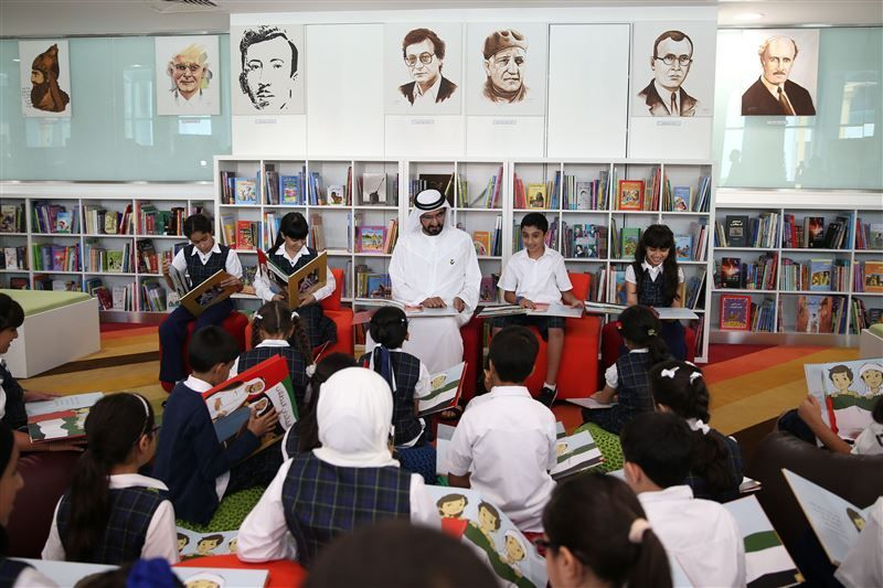 Sheikh Mohammed launches initiative to provide 1m books to libraries
