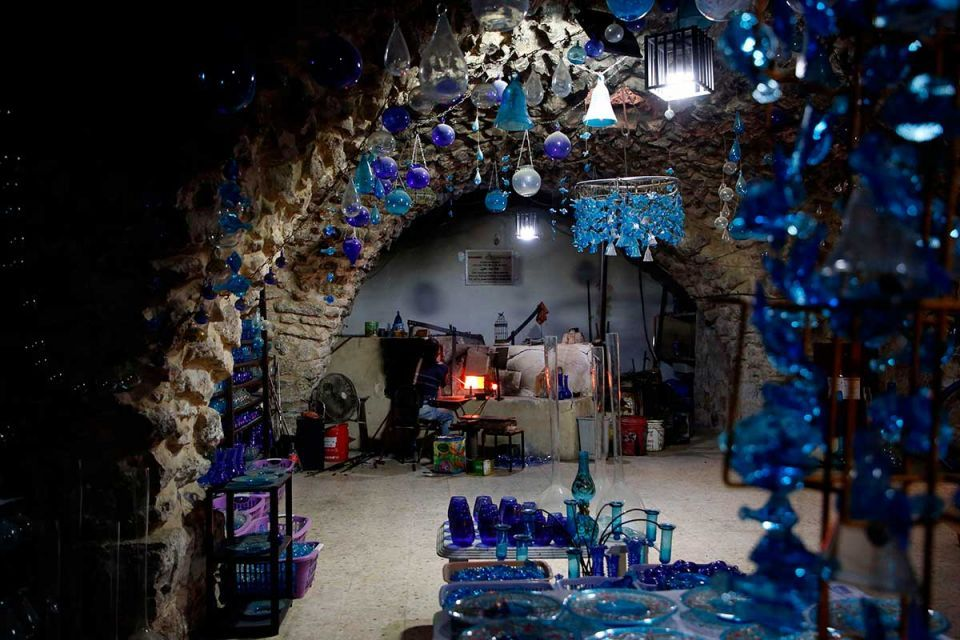 In pictures: Glass artifacts in West Bank