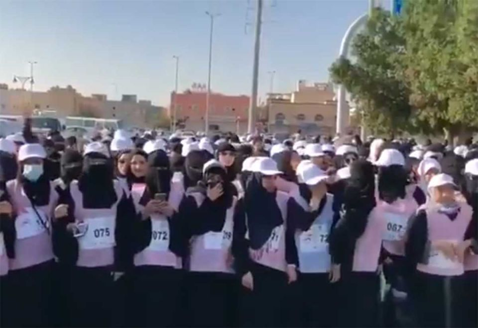 Saudi Arabia hosts first marathon for women
