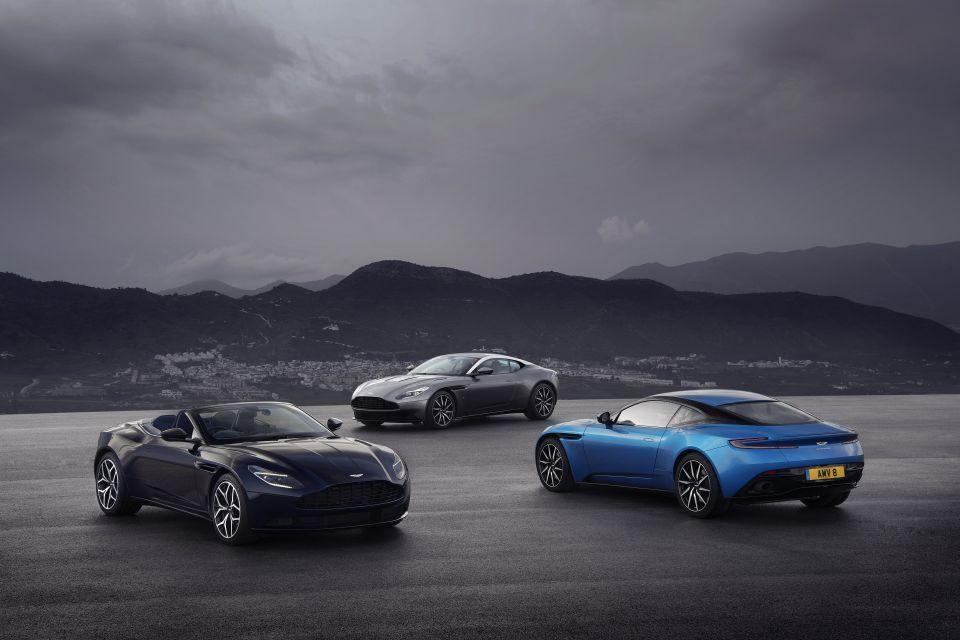 Kuwait-backed Aston Martin named world's fastest growing car brand