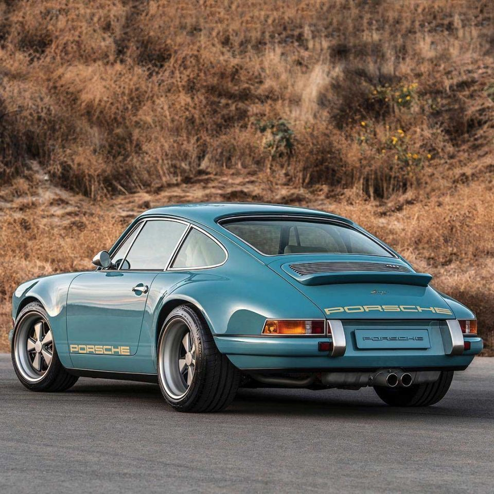 In pictures: Porsche 911 restored for customer in Abu Dhabi