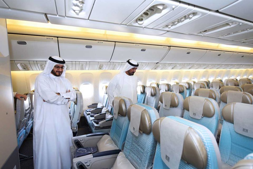 In pictures: Emirates newly refurbished Boeing 777 aircraft