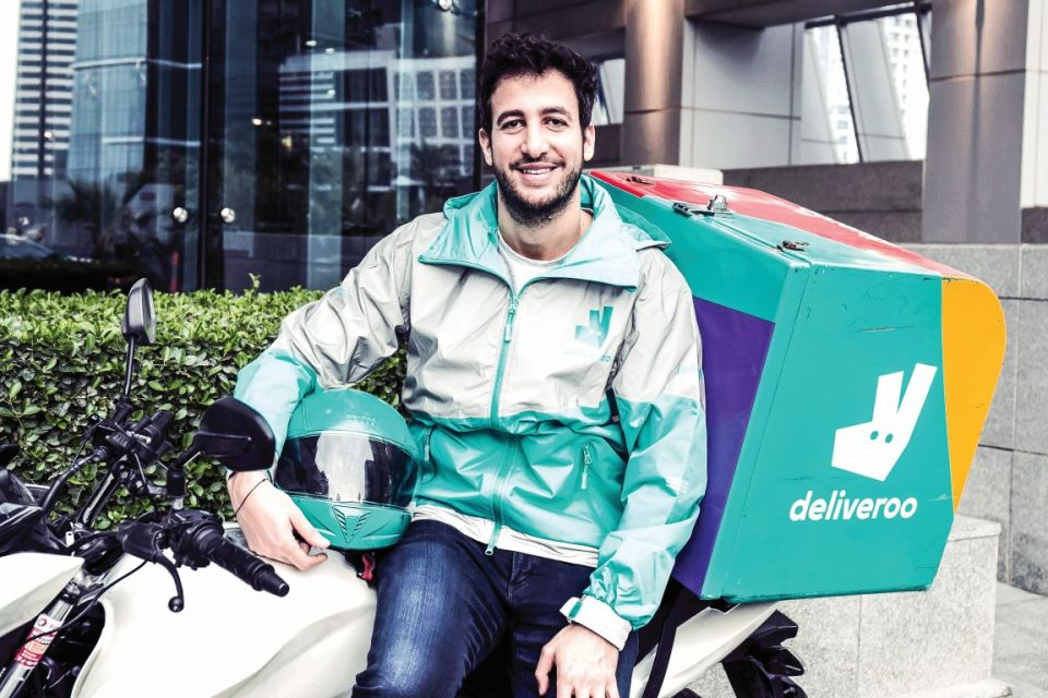 Going places: Deliveroo's Anis Harb