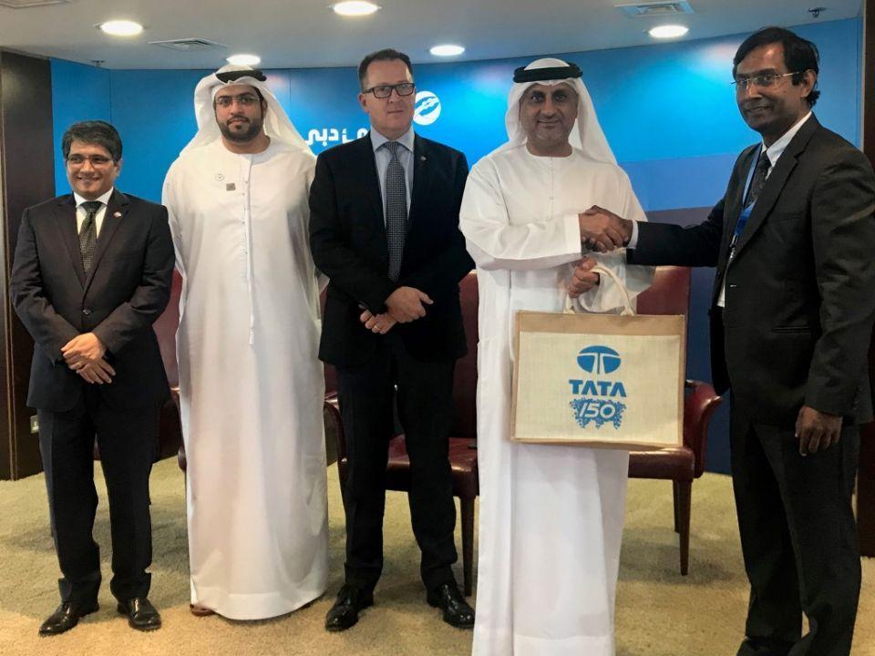 DP World, India's Tata explore cooperation opportunities