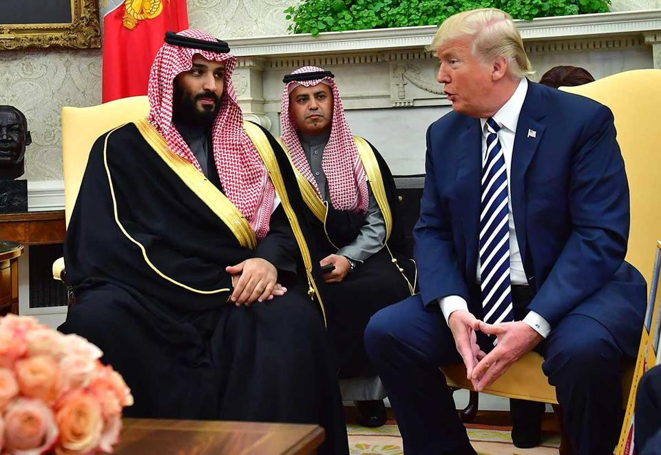 Revealed: Gulf states' gifts to President Trump, First Lady