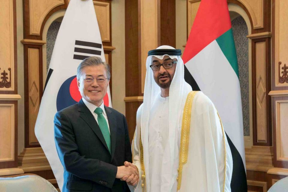South Korea said to be close to $25bn in UAE energy deals