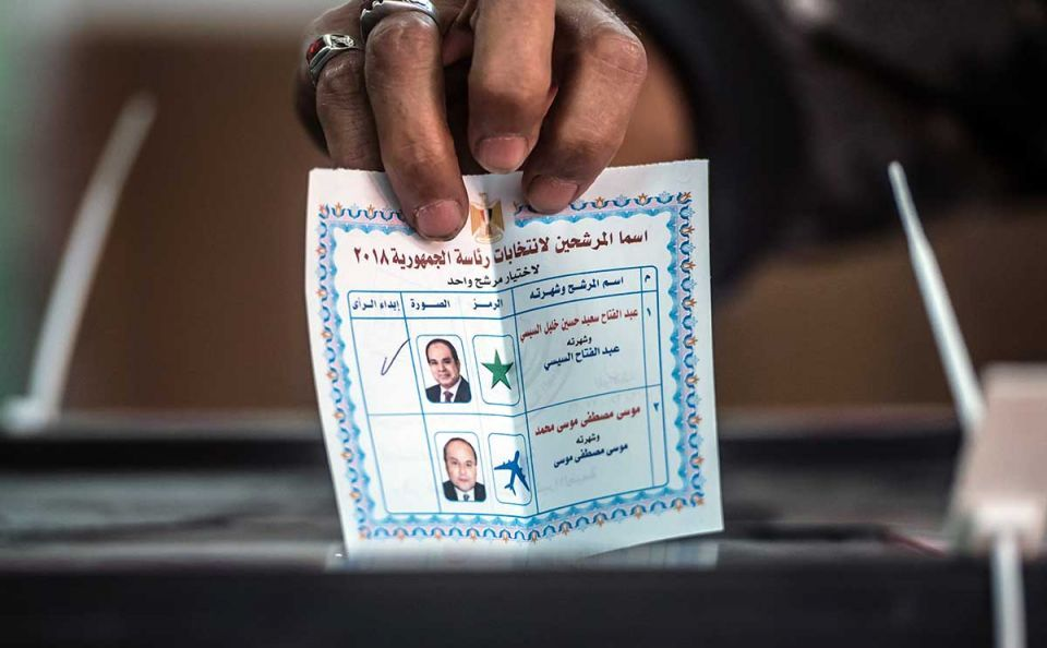 In pictures: Egyptians casts vote for president election