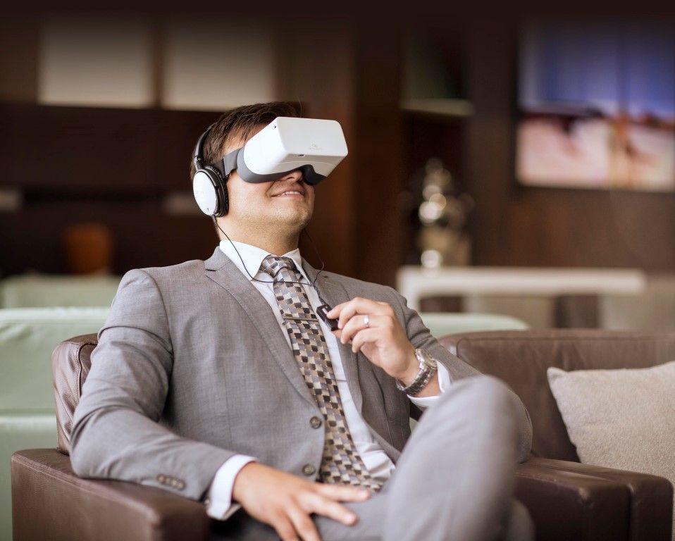 Etihad trials VR tech in Abu Dhabi airport lounge