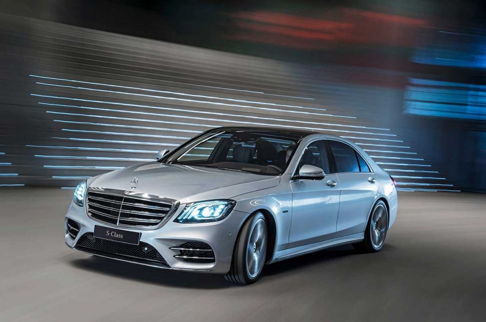 Smooth and sophisticated: Mercedes-Benz S 560