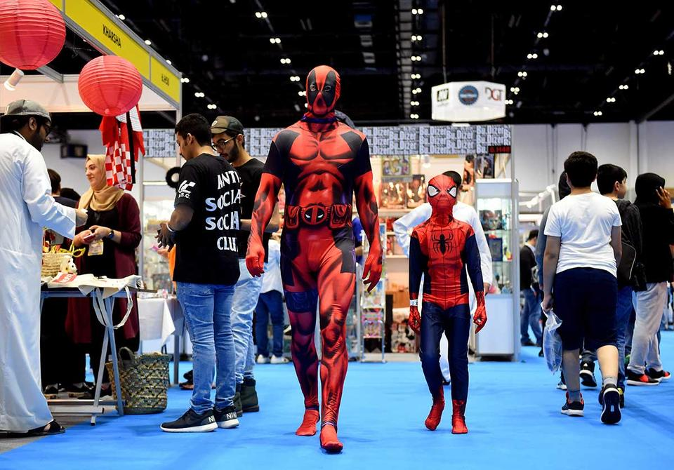 50,000 expected at expanded Middle East Comic Con
