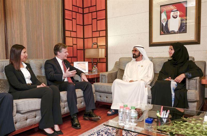 Dubai ruler, FBI chief discuss terrorism, cyber attacks