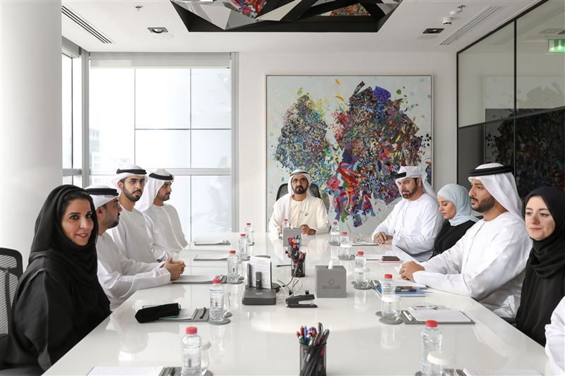 Sheikh Mohammed launches the UAE Blockchain Strategy 2021