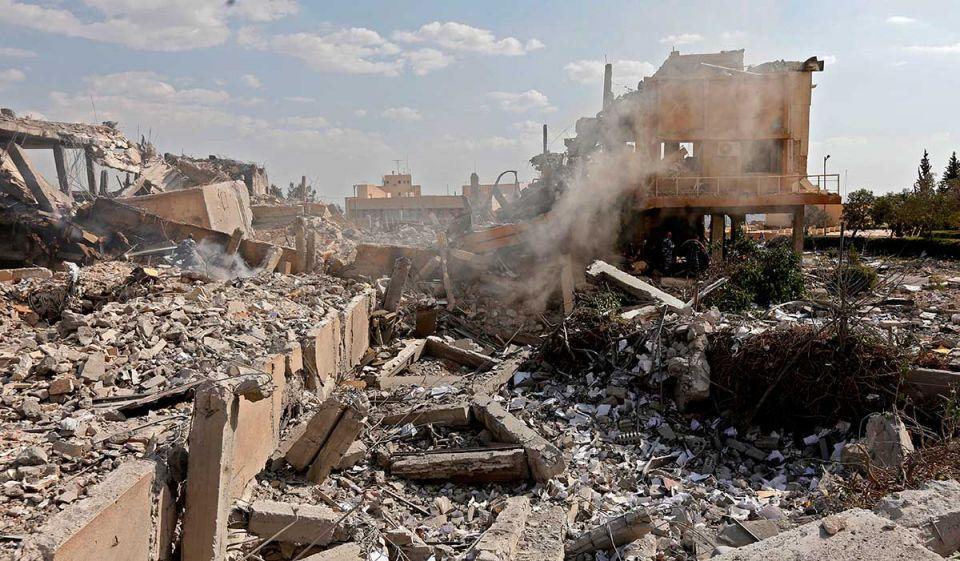 "UAE has ""deep concerns"" over escalating developments in Syria"