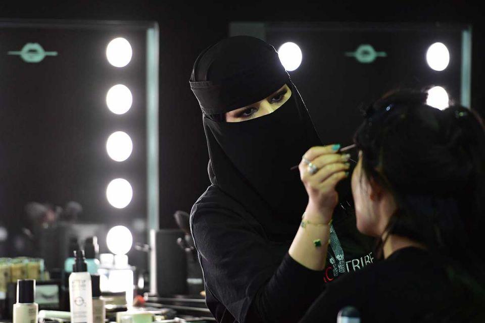 Saudi fashionistas flock to kingdom's first-ever fashion week